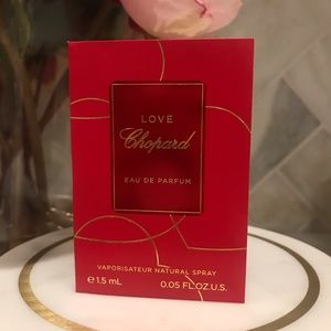 5 for $30, Chopard Love Sample